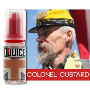 eliquide colonel custard t-juice