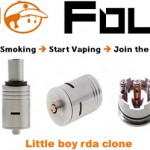 little boy rda clone vapofolies
