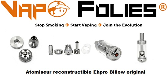 atomiseur reconstructible ehpro billow original vapofolies