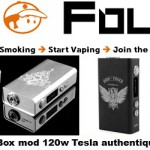 box mod 120w tesla authentique vapofolies