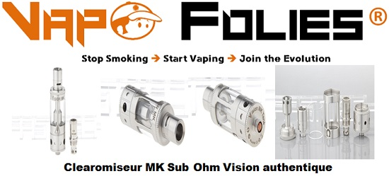 clearomiseur mk sub ohm vision authentique vapofolies