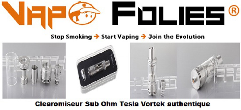 tesla vortek sub tank clearomiseur sub ohm pas cher vapofolies. Black Bedroom Furniture Sets. Home Design Ideas