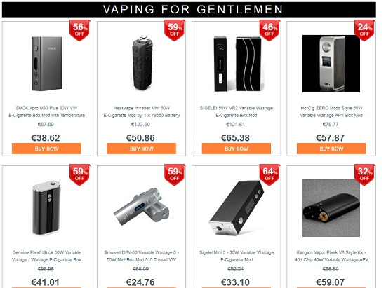 promotion cigarette electronique gearbest mai 2015