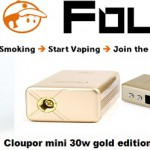 cloupor mini 30w gold edition vapofolies