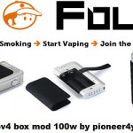 ipv4 box mod 100w pioneer4you vapofolies