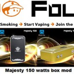 majesty 150 watt box mod vapofolies