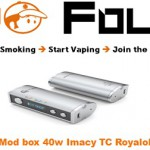 mod box 40 watts imacy tc royalola vapofolies
