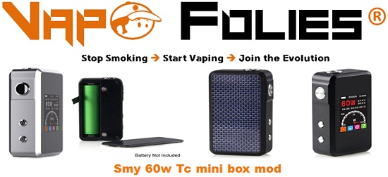 smy 60w tc mini box mod vapofolies