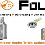 atomiseur aspire triton authentique vapofolies
