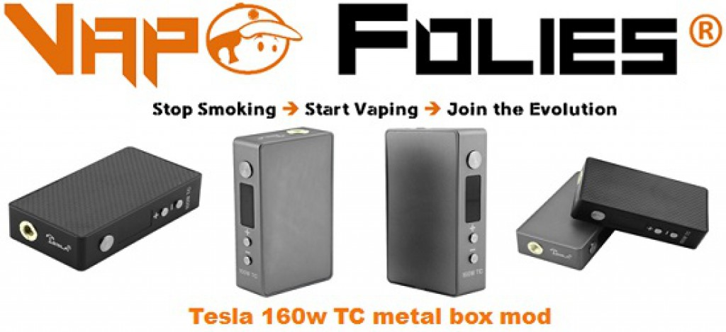 tesla 160w tc metal box mod pas cher deals bon plan vape. Black Bedroom Furniture Sets. Home Design Ideas