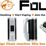 amigo chain reaction 50w box mod vapofolies