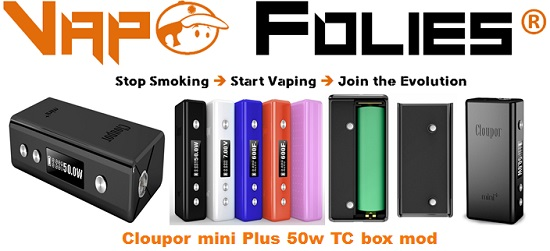 cloupor mini plus 50w tc vapofolies