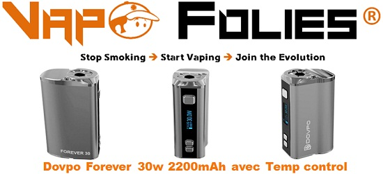 dovpo forever 30w 2200mAh vapofolies