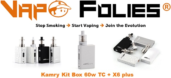 kamry kit 60w tc vapofolies