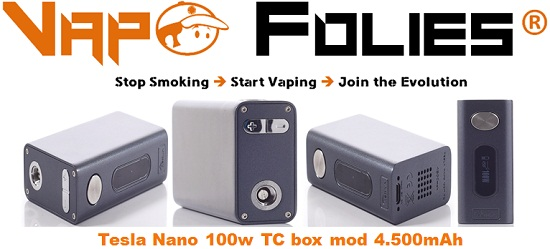 tesla nano 100w tc box mod 4500mah pas cher deals vape. Black Bedroom Furniture Sets. Home Design Ideas
