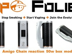 Box mod 50 watts Amigo Chain Reaction – 60.80€