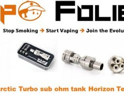 Clearomiseur sub-ohm Horizon tech Arctic Turbo – 22.71€