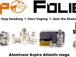 Clearomiseur sub-ohm Atlantis Mega by Aspire – 30,30 €