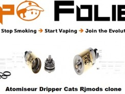 Atomiseur RDA Cat Rj Mods clone – 10,86 € FDP inclus
