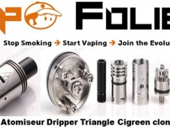 Atomiseur Dripper Triangle clone – 11 € FDP inclus