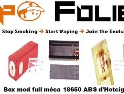 Mini box mod full mécanique 18650 Hotcig – 20,48 €