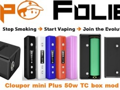 Box Cloupor Mini 50 watts TC version Plus – 9.01€