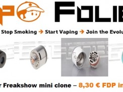 Dripper Freakshow mini clone – 8,30 € FDP inclus