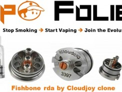 Atomiseur dripper Fishbone de Cloudcig clone – 5.31€