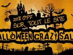 Halloween Crazy sale chez Cvapor