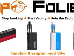 Mod box 50 watts Disrupter d'innokin – 39.86€