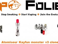 Atomiseur Kayfun Monster 3 clone – 9.00€