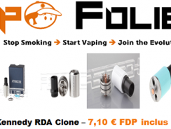Dripper Kennedy Clone – 7,10 € FDP inclus