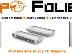 Mod box 40 watts avec TC Imacy Royalola – 39.65€