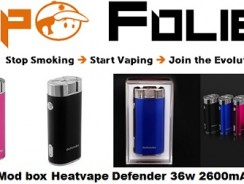 Mod Heatvape Defender 36 watts 2600 mAh – 34,58 €
