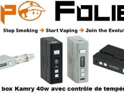 Minibox Kamry 40 watts – 35,81 € FDP inclus