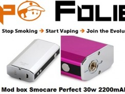 Mod box Smocare Perfect 30 watts 2200mAh – 20.70 €
