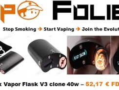 Vapor Flask V3 DNA40 Clone – 52,17 € FDP inclus