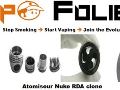 Atomiseur dripper Nuke by cloudcig clone – 8.86 €