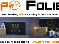 Mod brass Phantus Mini Clone – 26,20 € FDP inclus
