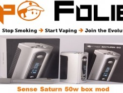 Box mod 50 watts Sense Saturn 50 – 28.86€