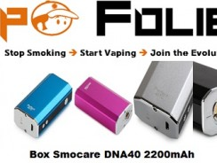Box Smocare Perfect 40 watts 2200mAh – 44,60 €