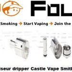 atomiseur dripper castle vape smith clone vapofolies