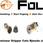 atomiseur dripper cats rj mods clone vapofolies