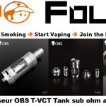 clearomiseur obs t vct tank sub ohm authentique vapofolies