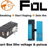 minibox smart box 50w voltage puissance variable vapofolies