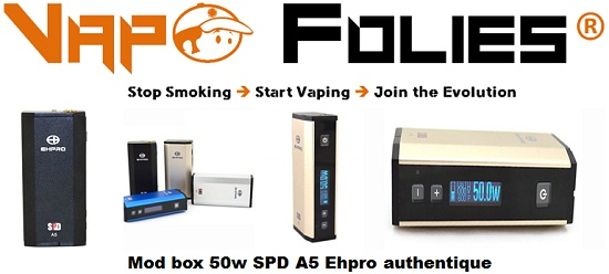 mod box 50w spd a5 ehpro authentique vapofolies