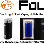 mod box heatvape defender 36w 2600mAh