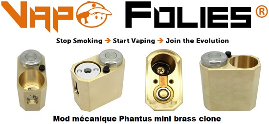 mod mecanique phantus mini brass clone vapofolies