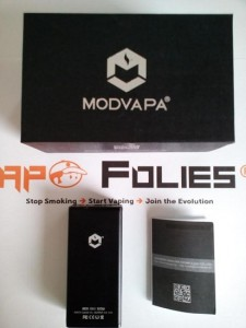emballage box mk1 50w modvapa vapofolies