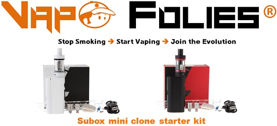 subox mini clone starter kit vapofolies